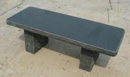 Granite benches, stone benches, granite table for garden