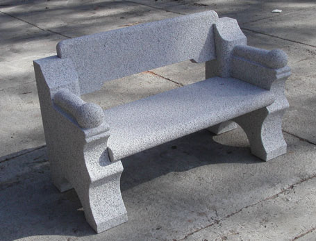 Terrific Granite Benches Stone Benches Granite Table For Garden Frankydiablos Diy Chair Ideas Frankydiabloscom